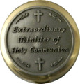 "Pyx Extraordinary Minister of Holy Communion Small 1 1/2"" diameter holds 6-9 hosts"