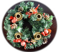 Berry Advent Wreath Candles sold separately