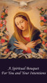 Spiritual Bouquet Holy Card front of card