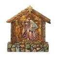 Holy Family LED lit Manger
