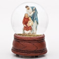 Holy Family glitterdome Joy to the World