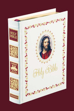 Catholic Family Bible White Eurobond® Leather