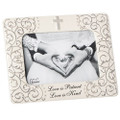 """Wedding Picture Frame 5"""" x 7"""" picture opening"""