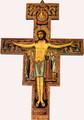 San Damiano Crucifix Plaque