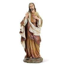 "Sacred Heart of Jesus 10.25"" Statue"