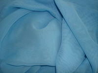 Polyester Chiffon Aquamarine