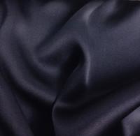 Silk Charmeuse-Navy Blue