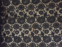 Black Guipure Lace