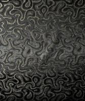Black/Gold Swirl Brocade