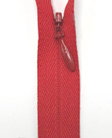 Invisible Zipper-820 Atom Red