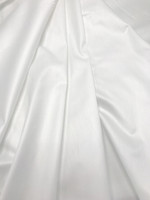 White Stretch Cotton Shirting