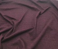 Heather Burgundy Rayon Jersey Knit