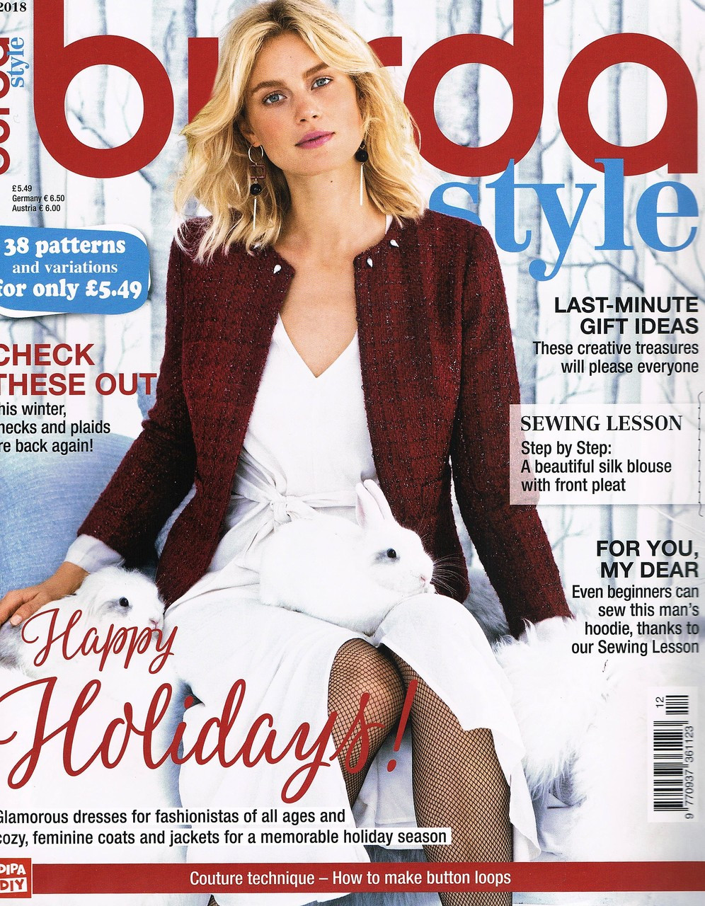Home · Burda Style Magazine  Burda Style 12 2018. Image 1. Image 1. Image  2. Image 3. See 2 more pictures 9a8f2098efcf