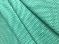 Teal Green Stretch Pique