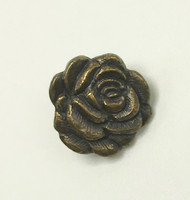 Antique Gold Brass Rose