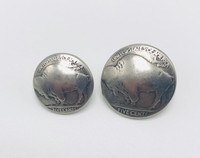 Antique Silver Buffalo Nickle