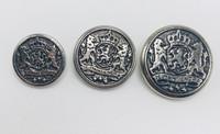 Silver Lion Crest