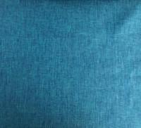 Teal/Royal Blue Cross Dye Linen