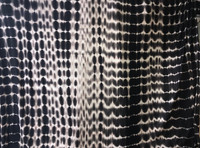 Dark Chocolate/Blush Tie-Dye Rayon Jersey Knit