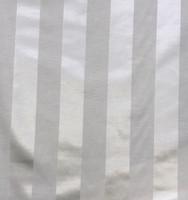Tuxedo Stripe Satin-Ivory