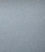 Embroidered Squares Cotton Denim