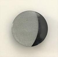Grey/Black Quarter Moon