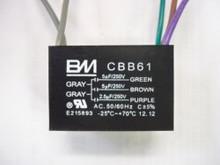 CBB61 5-5-2.5uf (5 wires)