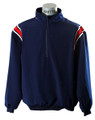 Smitty Major Leage & Collegiate Style Navy Pullover