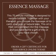 Essence Massage