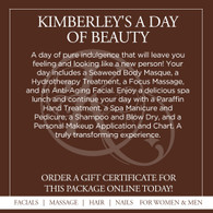 Kimberley's Day of Beauty