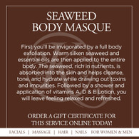 Seaweed Body Masque with Hydrotherapy