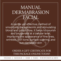 Manual Dermabrasion Facial