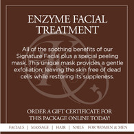 Enzyme Facial Treatment