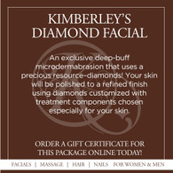 Kimberley's Diamond Facial