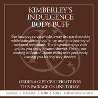 Kimberley's Delectable Indulgences Body Buff