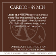 Cardio Infrared Sauna Treatment - 45 Min