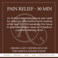 Pain Relief Infrared Sauna Treatment - 30 Min