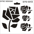 SPS-0013 Origami Rose