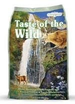 Taste of the Wild Rocky Mountain Feline Formula with Roasted Venison & Smoked Salmon, (Choose Size)