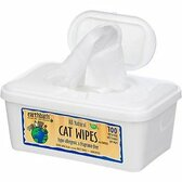Earthbath Hypoallergenic Cat Wipes (100 ct)