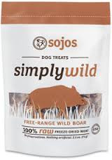 Sojos Simply Wild Boar Treats (2.5 oz.)