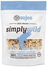 Sojo's Simply Wild Salmon Treats (2.5 oz.)