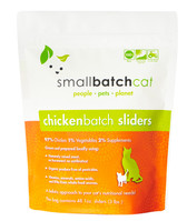 Small Batch Chicken Sliders for Cats, 3 lb.