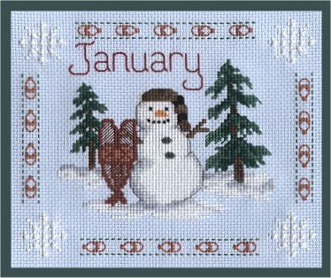 cross stitch calendars