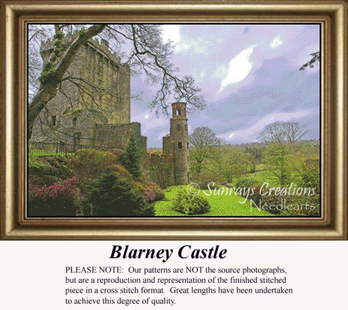 Blarney Castle, Irish Counted Cross Stitch Patterns