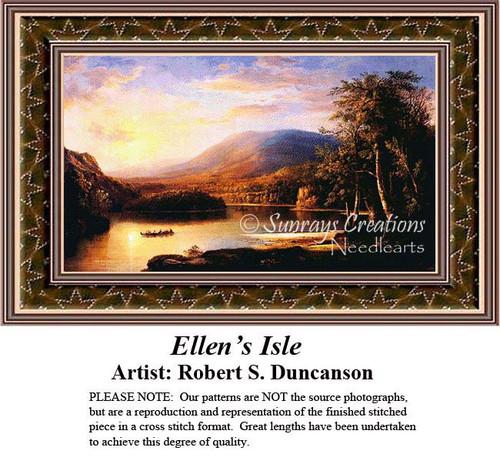 Ellen's Isle, Fine Art Counted Cross Stitch Pattern