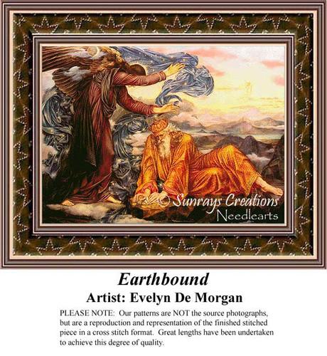 Earthbound, Fine Art Counted Cross Stitch Pattern