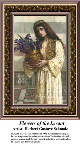 Fine Art Counted Cross Stitch Patterns | A Fair Beauty