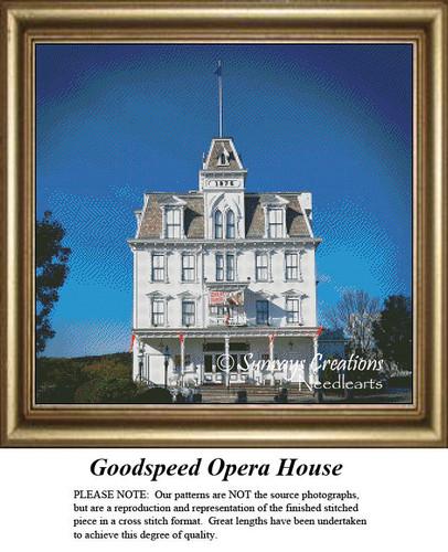 New England States Cross Stitch Patterns | Goodspeed Opera House