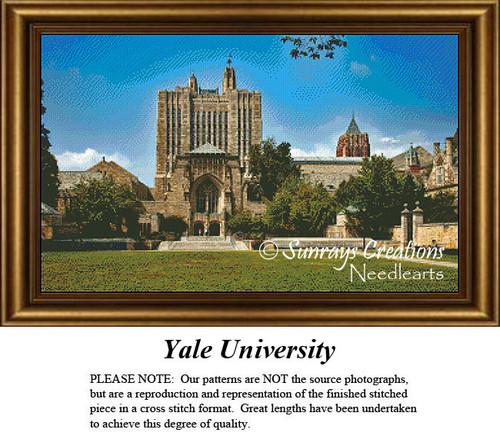 New England States Cross Stitch Patterns   Yale University